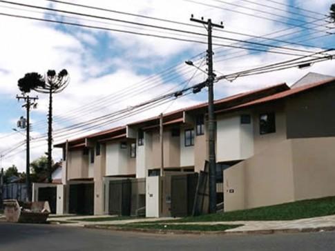 Sobrados Rua Vicente Wolski Curitiba PR